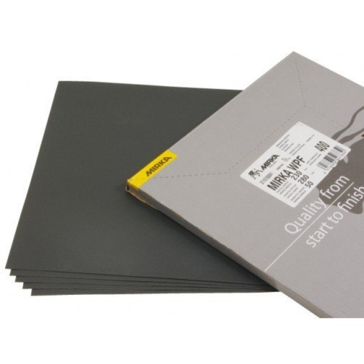 Водост шлиф бумага MIRKA WPF 230x280мм P400