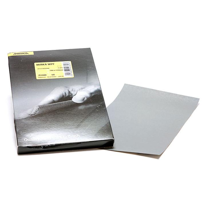 Шлифовальные листы водостойкие Mirka WPF 140x230мм P1500