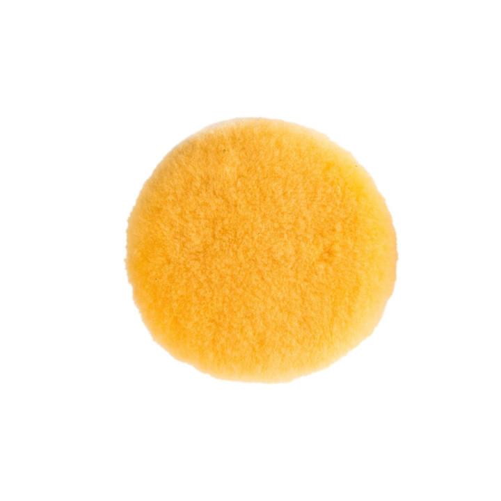 Полировальный диск из овчины Mirka 150мм. желтый. Premium