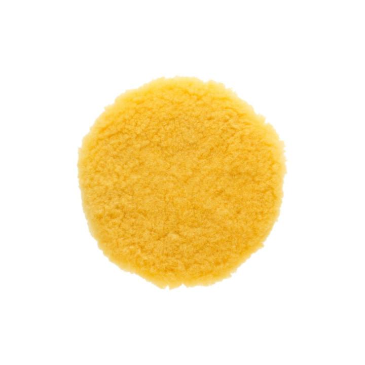 Полировальный диск из овчины Mirka 180мм. желтый. Premium
