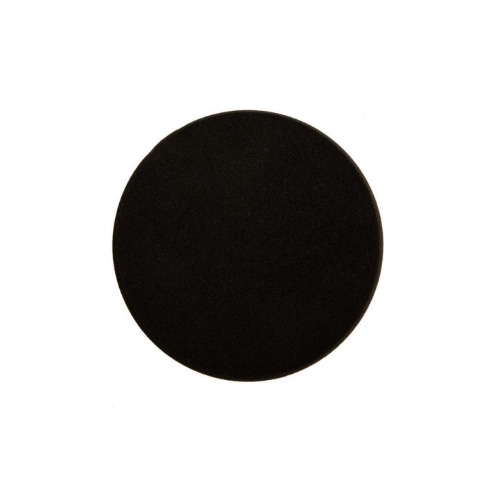 Поролоновый полировальный диск Mirka 150мм. черный. плоский