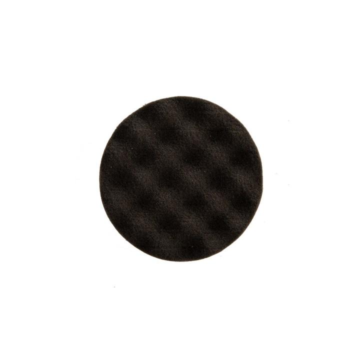Рельефный поролоновый полировальный диск Mirka 85мм. чёрный