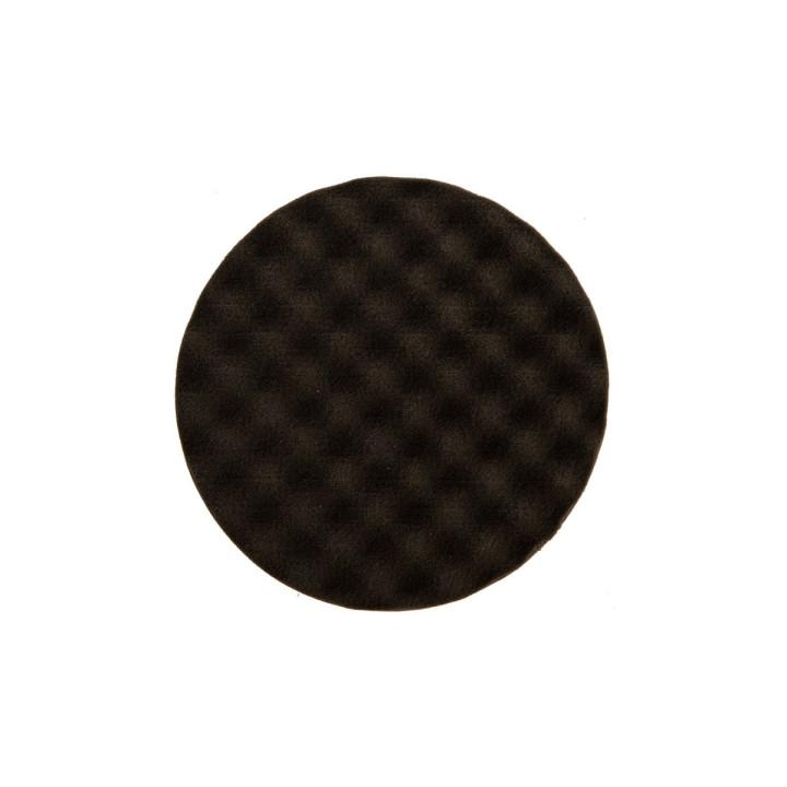 Рельефный поролоновый полировальный диск Mirka 150мм. чёрный