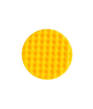 Рельефный поролоновый полировальный диск Mirka 150мм. желтый