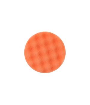 Рельефный поролоновый полировальный диск Mirka 85мм. оранжевый