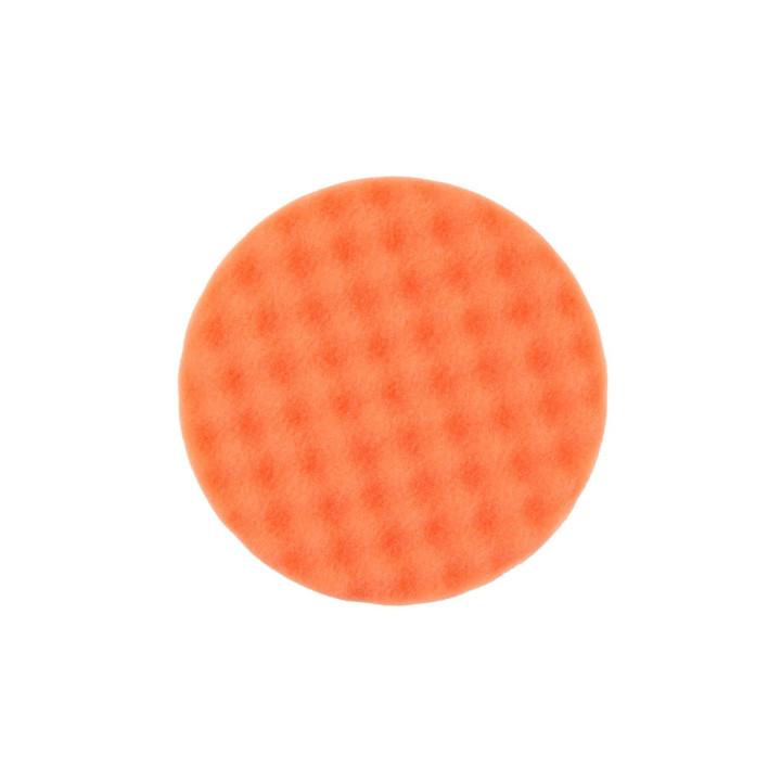 Рельефный поролоновый полировальный диск Mirka 150мм. оранжевый
