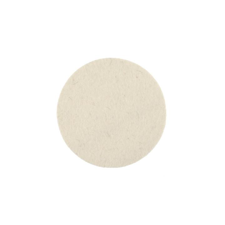 Фетровый полировальный диск Mirka 125 мм. белый