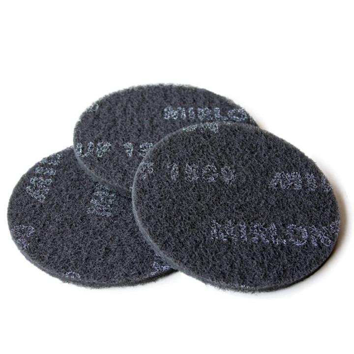 Шлифовальный войлок Mirka Mirlon 150мм UF 1500 серый