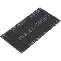 Шлифовальный войлок Mirka Mirlon Total 115x230мм XF 800 черный