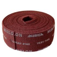 Шлифовальный войлок Mirka Mirlon Total 115мм x 10m VF 360 красный