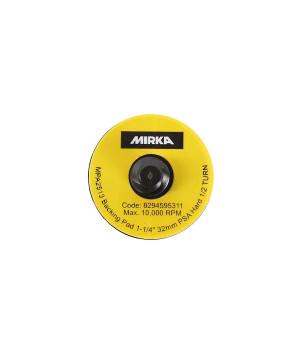 Шлифовальные подошвы Mirka 32 мм без отв., жесткая, клей
