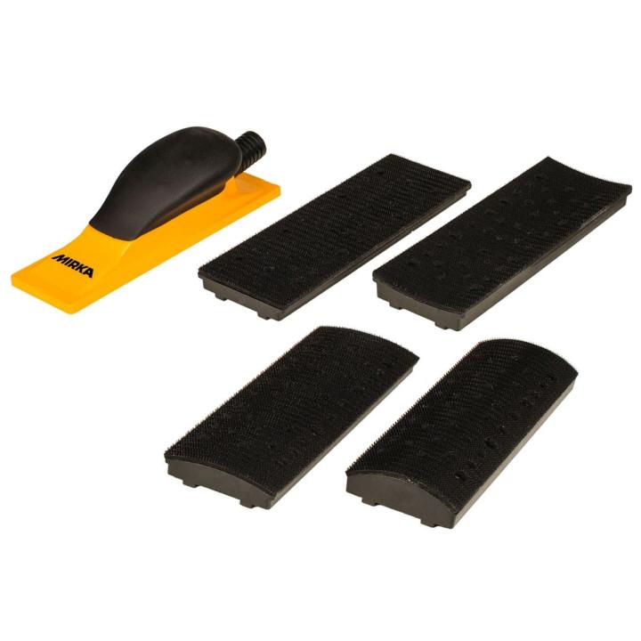 Комплект ручного шлифовального блока Mirka Premium 70x198мм 40 отв.