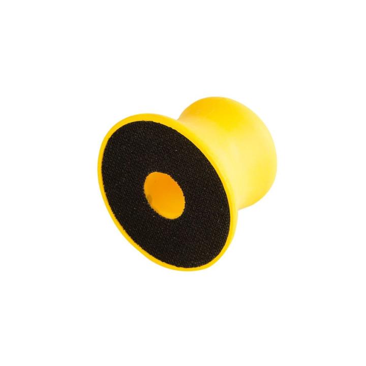 Ручной мягкий шлифовальный блок Mirka Ø77мм с центральным отверстием
