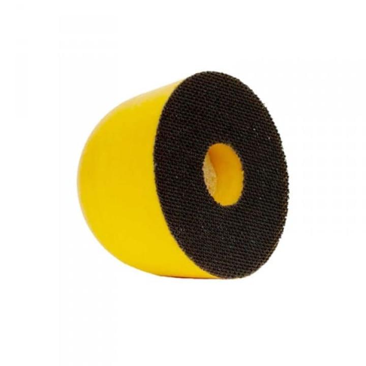 Шлифок ручной Mirka 77 мм на липучке мягкий c отверстием