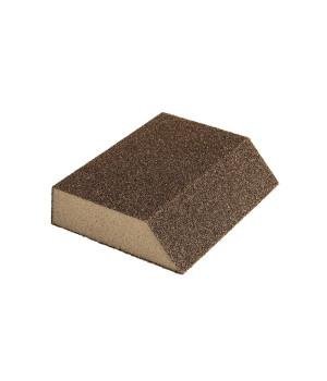 Губка шлифовальная угловая Mirka 125х85х25мм, зерно 120