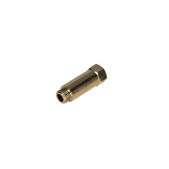 """Разъём-удлинитель Mirka для шланга подачи сжатого воздуха, для машинок PROS, 1/4"""", 19 мм"""