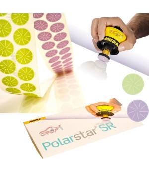 Шлифовальные цветки Polarstar 32мм P 2500 (7 микрон) 100шт