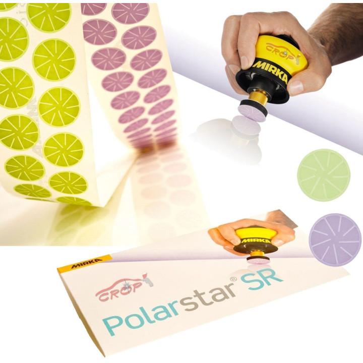 Шлифовальные цветки Polarstar 32мм P 3000 (5 микрон) 100шт