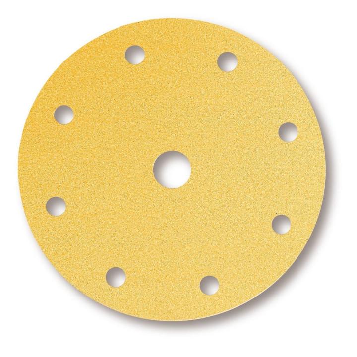 Шлифовальные круги Mirka Gold Ø 200 мм P180 (9 отверстий)