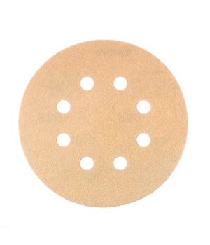 Шлифовальные круги Mirka Gold Ø 125 мм P150 (8 отверстий)