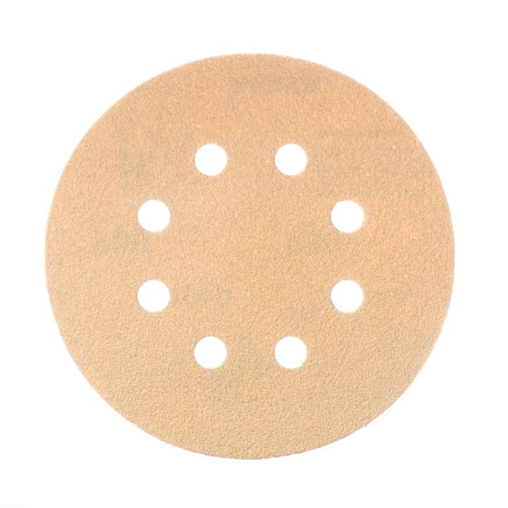 Шлифовальные круги Mirka Gold Ø 125 мм P180 (8 отверстий)