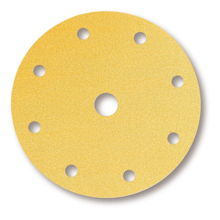 Шлифовальные круги Mirka Gold Ø 150 мм P240 (9 отверстий)