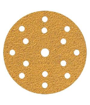 Шлифовальные круги Mirka Gold Ø 150 мм P120 (15 отверстий)