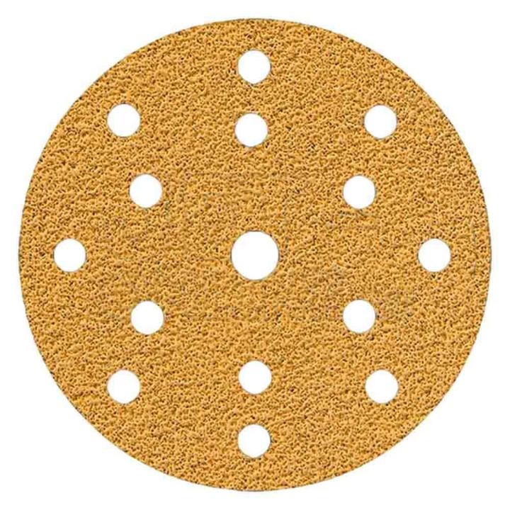 Шлифовальные круги Mirka Gold Ø 150 мм P320 (15 отверстий)