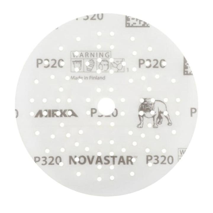 Шлифовальные круги Mirka Novastar Ø 125 мм P500 (89 отверстий)