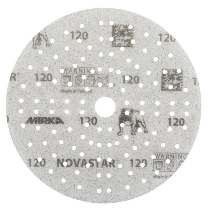 Шлифовальные круги Mirka Novastar Ø 150 мм P320 (121 отверстие)