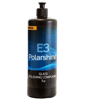 Полировальная паста Mirka Polarshine Е3 - 1л, для полировки стекла