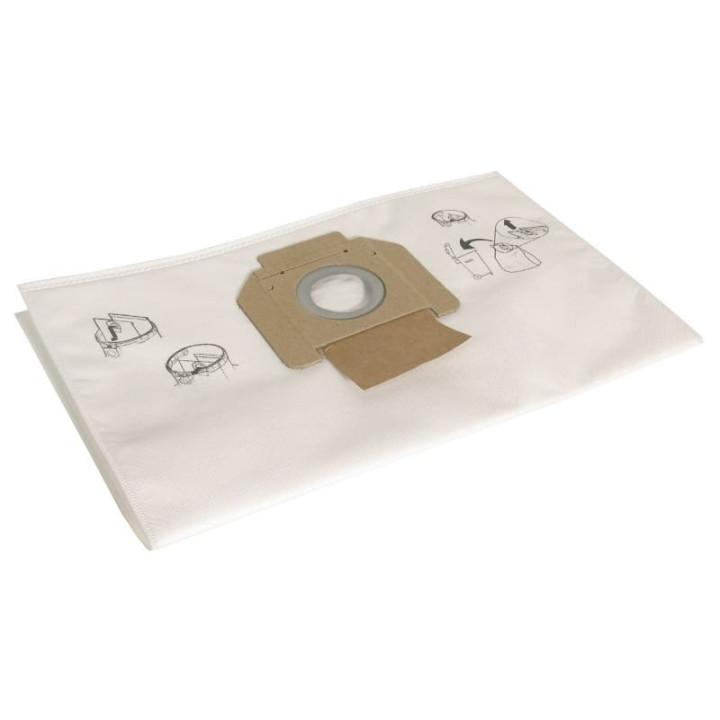 Комплект флисовых мешков для пылесосов Mirka VC 915/415, (5 шт. в уп.)